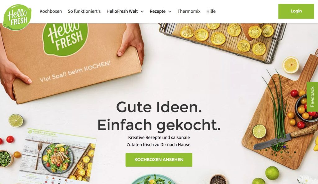 Der kommende Börsengang von HelloFresh & das Potenzial von Kochboxen