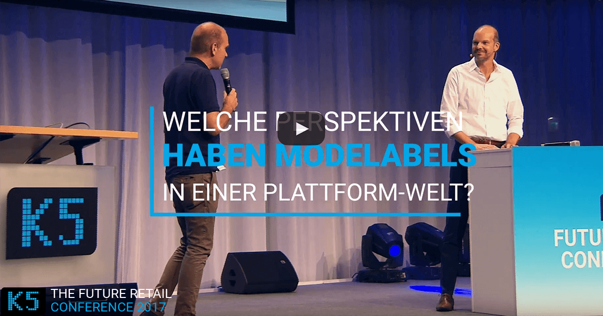 Welche Perspektiven haben Modelabels in einer Plattform-Welt? K5 Konferenz