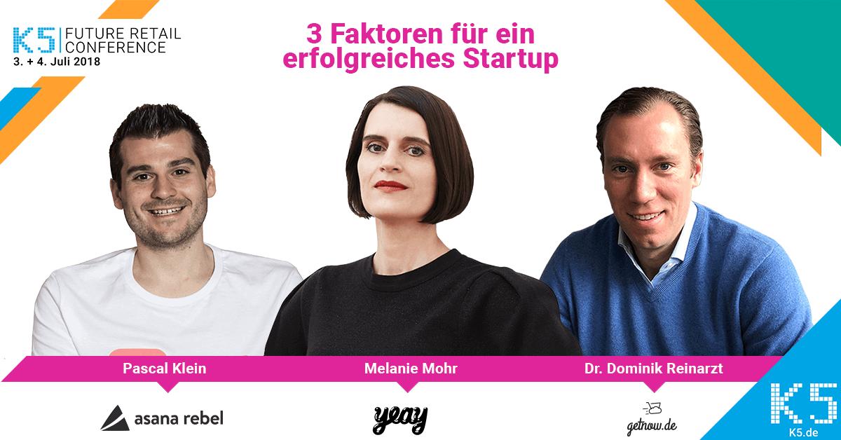 3 Faktoren für ein erfolgreiches Startup