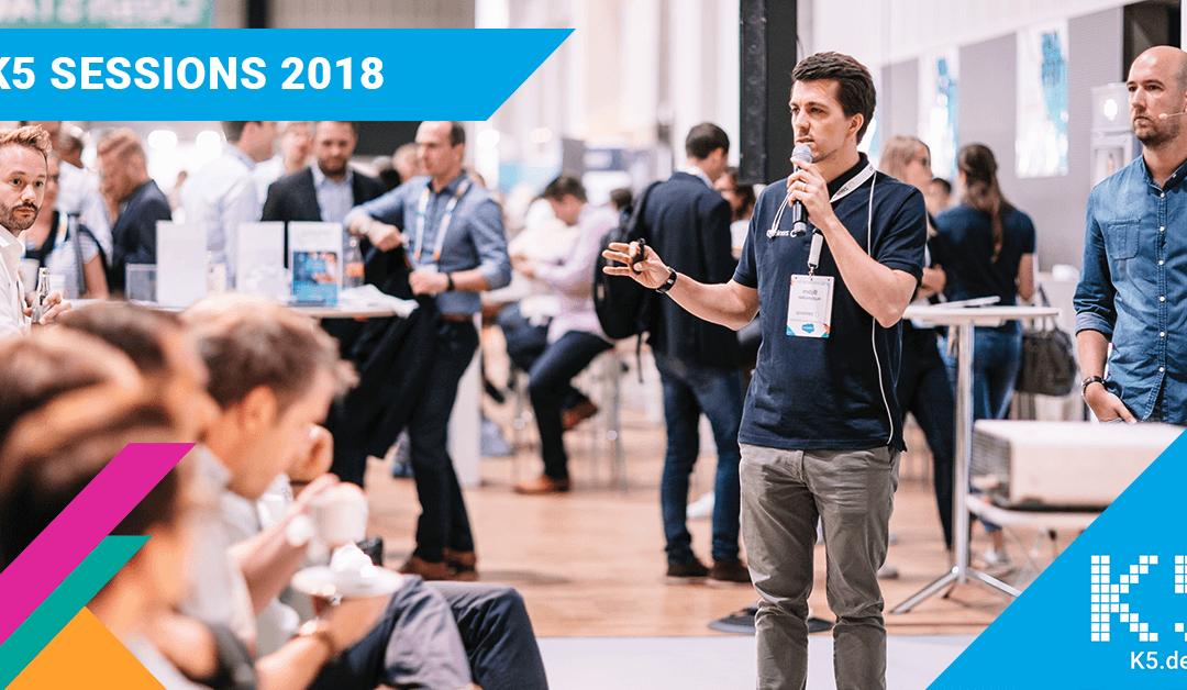 K5 Sessions 2018: Content-Strategien und Datenmanagement