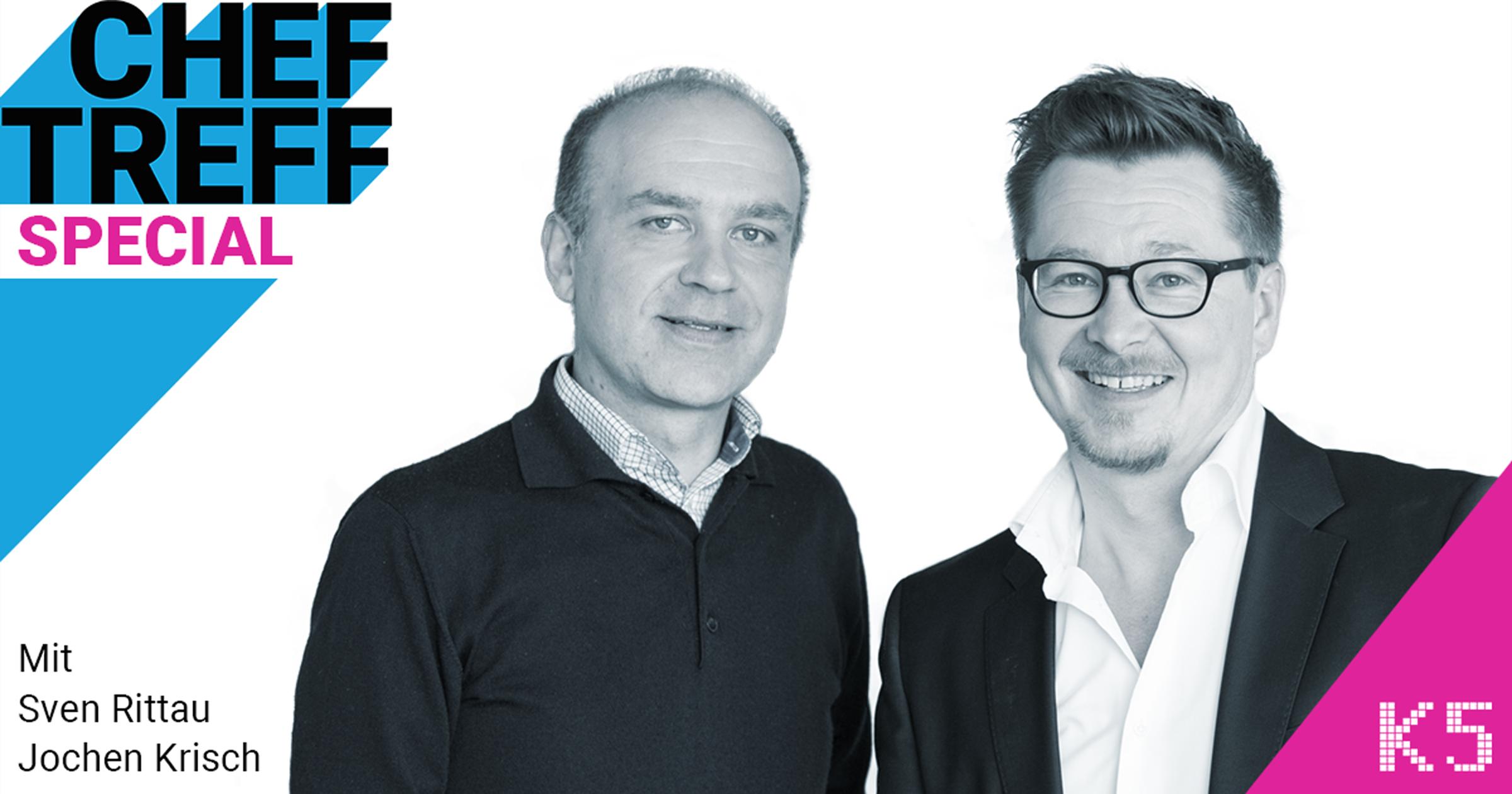 Jochen Krisch, excitingcommerce im ChefTreff Special mit Sven Rittau