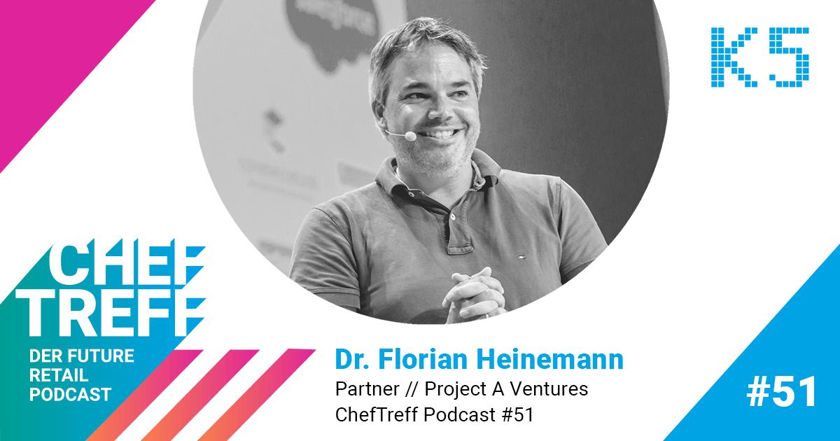 """Bewusste Unschärfe"" – Dr. Florian Heinemann im ChefTreff Podcast"