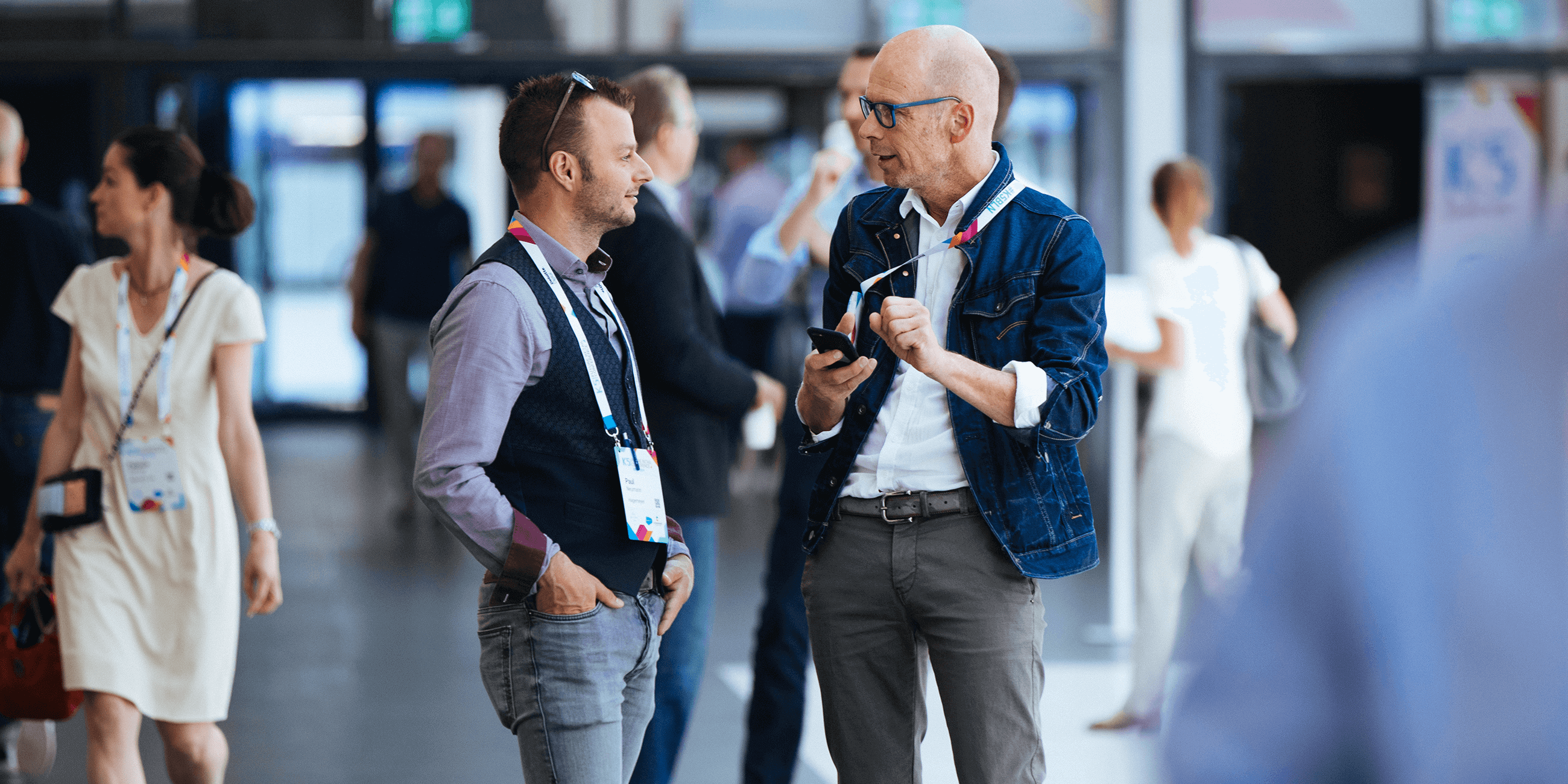 Networking auf der K5 Konferenz