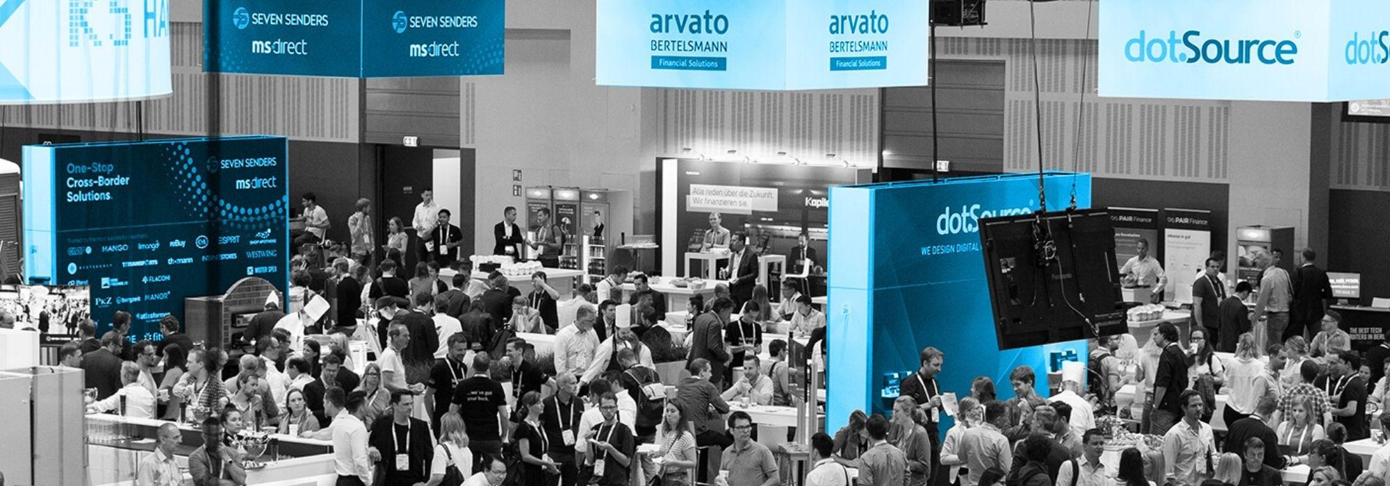 Bild des Ausssteller Bereiches auf der K5 Konferenz