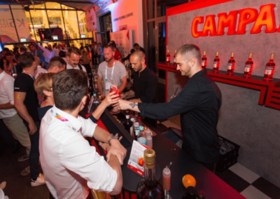 Campari Bar zur Party 2019