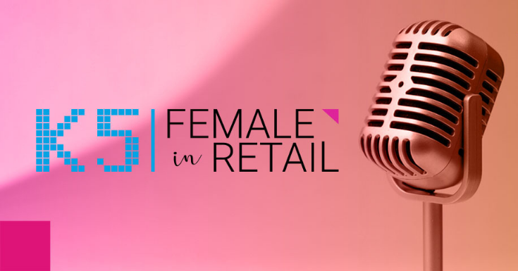 Female in Retail Podcast Mikrofon