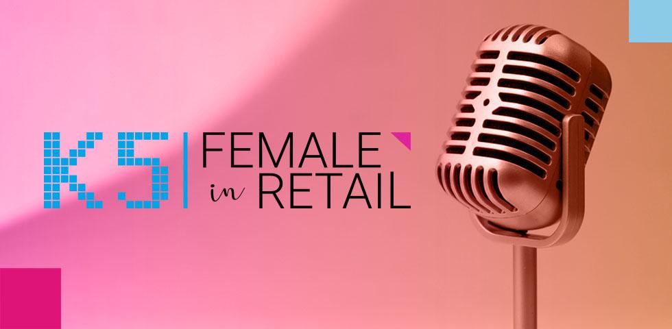 Female in Retail Podcast Mikrofon