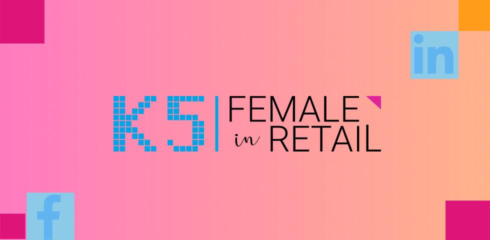 Female in Retail bei Facebook und Linkedin