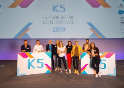K5 Team auf der Konferenz 2019