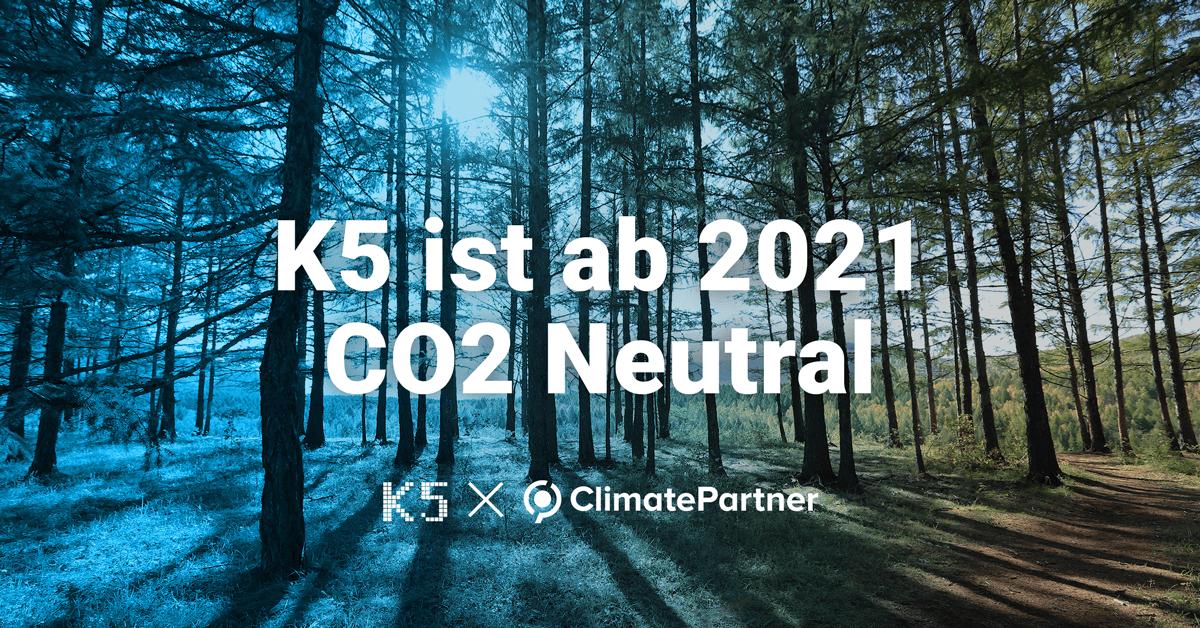 K5 startet das neue Jahr klimaneutral