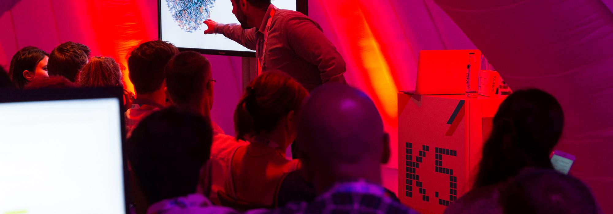 Vortrag vor Zuschauern