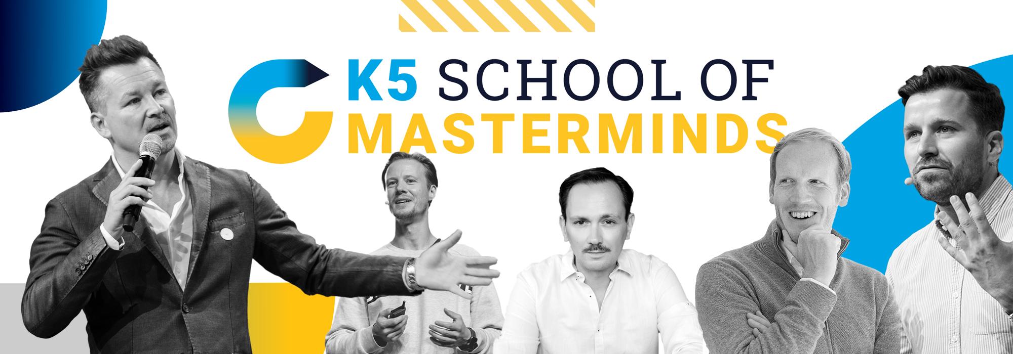 School of Masterminds mit Sven Rittau, Max Wittrock und vielen mehr