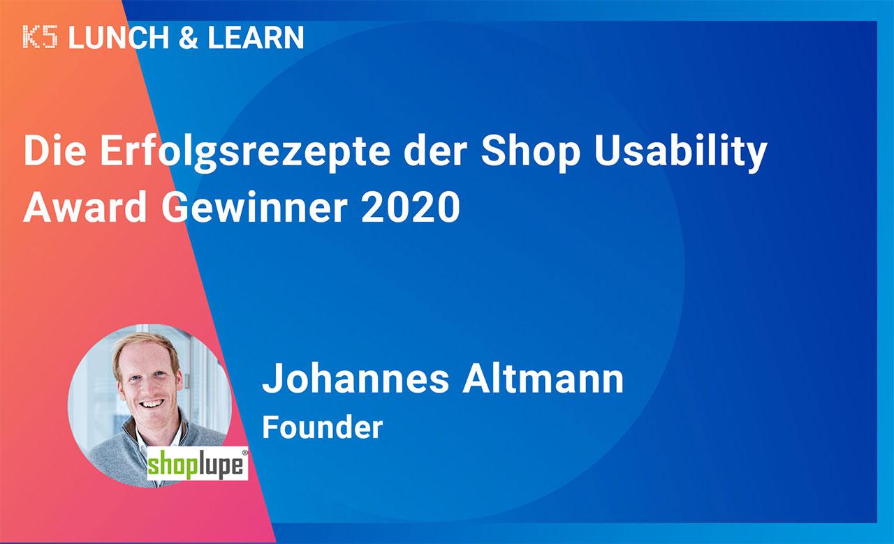 Die Erfolgsrezepte der Shop Usability Award Gewinner 2020