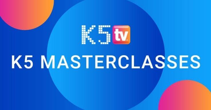 Grafik Masterclasses bei K5 TV
