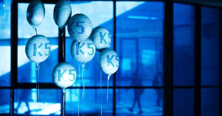 Ballons mit K5 Logo