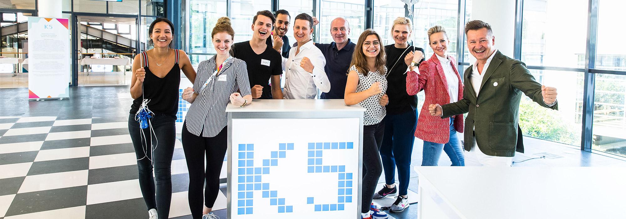 Das K5 Team auf der K5 Konferenz