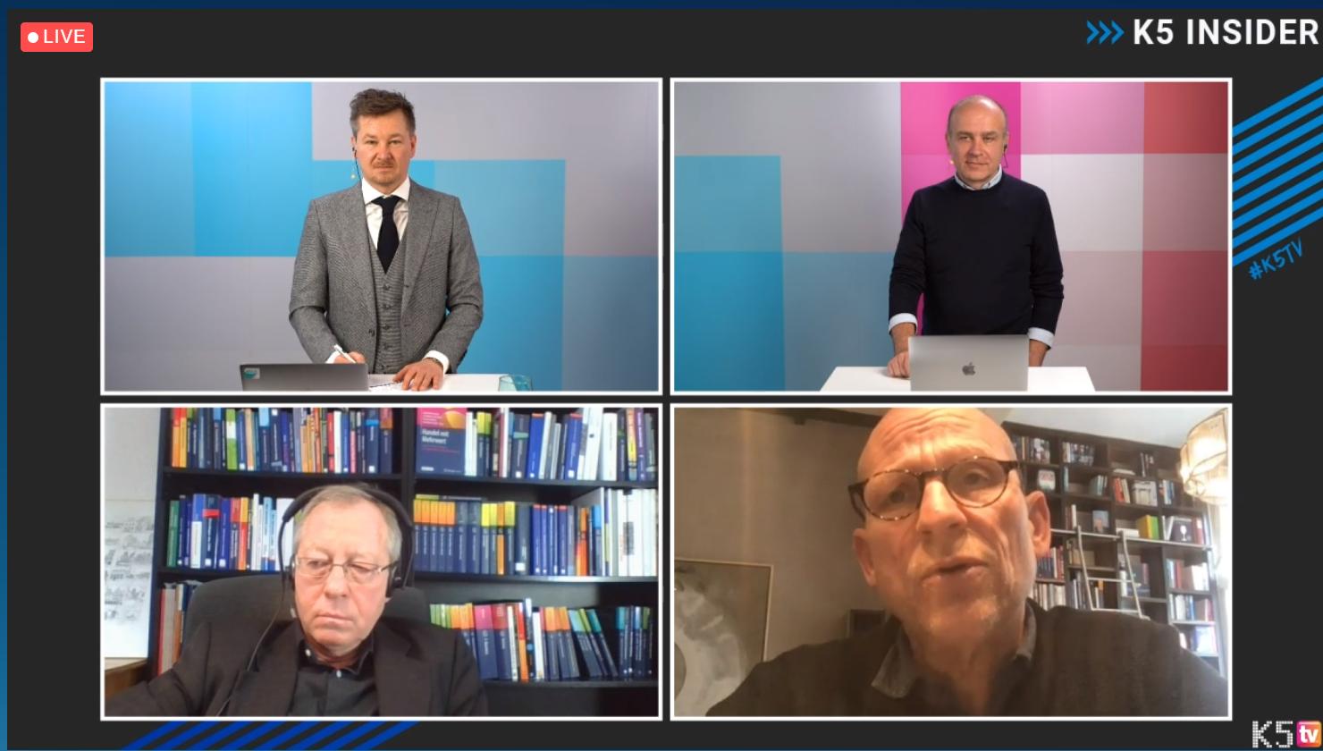 Michael Busch, Gerrit Heinemann, Sven Rittau und Jochen Krisch