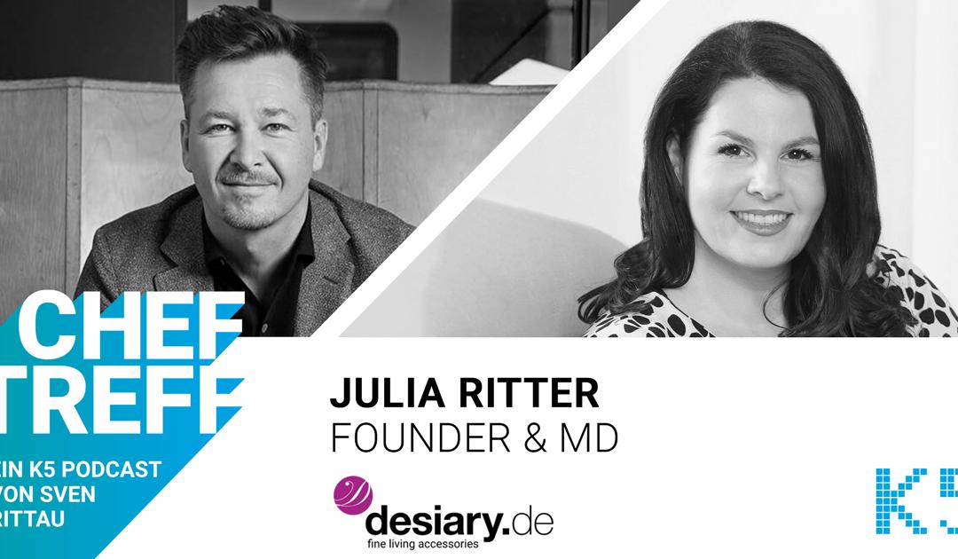 """Von """"Oh my God"""" zu """"Hell, yes"""" – Interview mit Julia Ritter, Founder Desiary"""