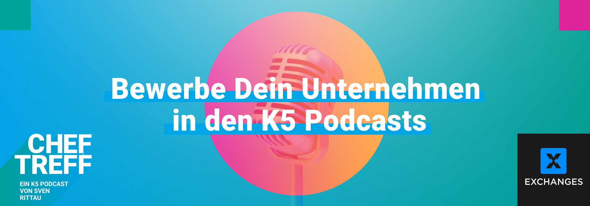 K5 Podcast mit Mikrofon