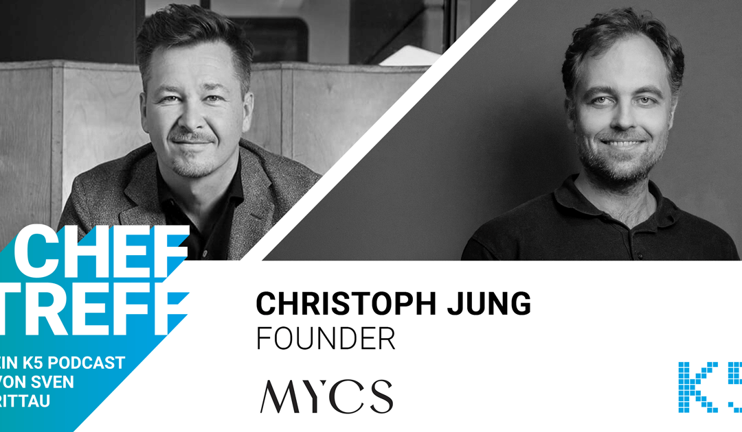 Als Tech Company Möbel verkaufen – Christoph Jung, Founder MYCS, im Gespräch