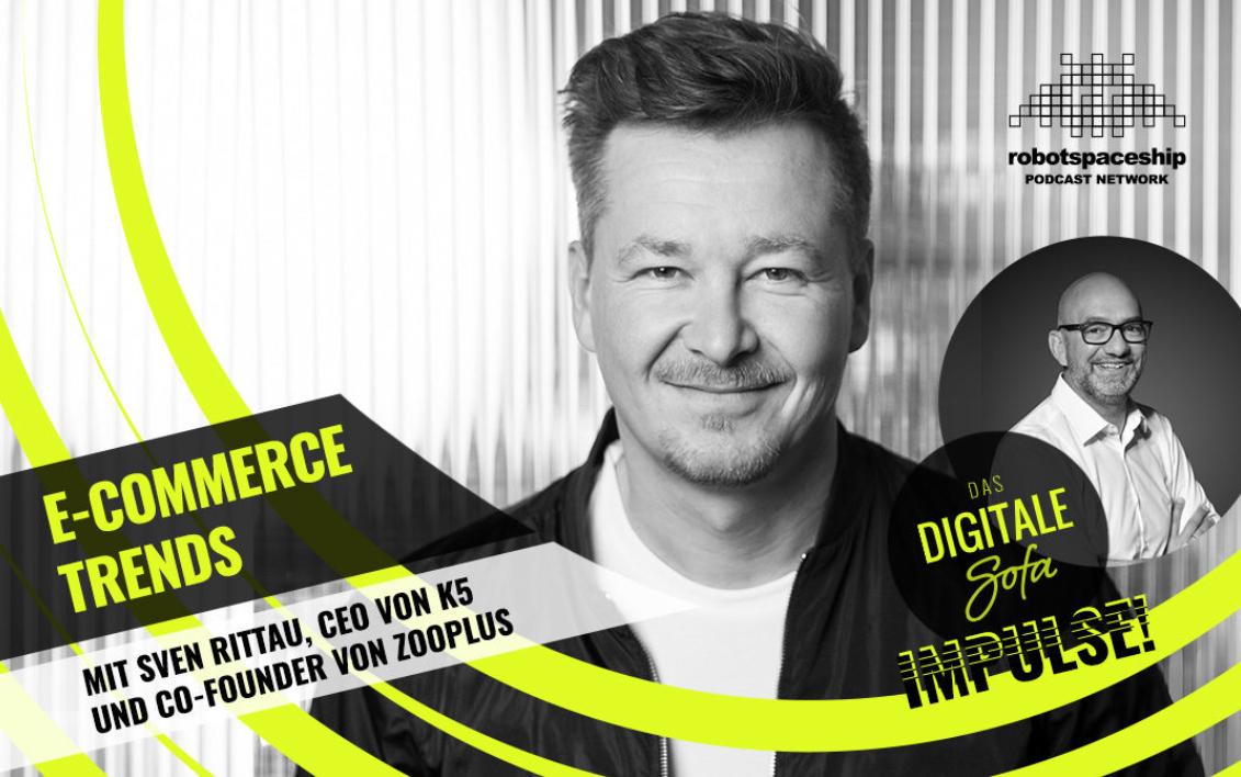 """Aufmacherbild für den Podcast """"Das digitale Sofa"""". Interview mit Sven Rittau"""